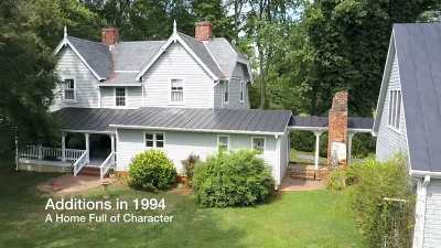 Fluvanna County Single Family Home For Sale: 5206 Venable Rd
