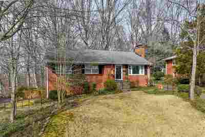 Charlottesville Single Family Home For Sale: 2715 McElroy Dr