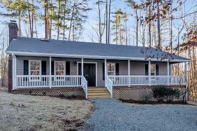 Fluvanna County Single Family Home For Sale: 31 Begum Rd