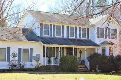 Louisa County Single Family Home For Sale: 436 Johnny Hall Rd