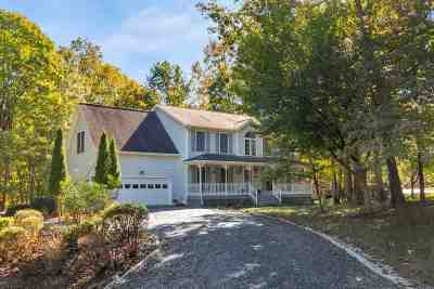 Fluvanna County Single Family Home For Sale: 58 Nahor Dr