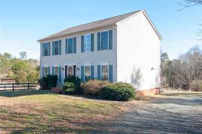 Fluvanna County Single Family Home For Sale: 86 Old Spring Hill