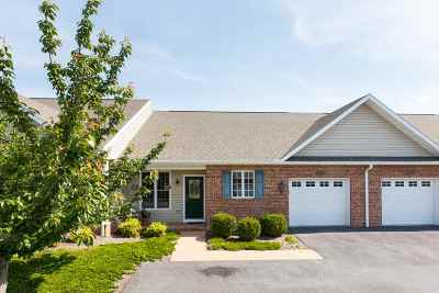 Harrisonburg Townhome For Sale: 1126 Royal Ct