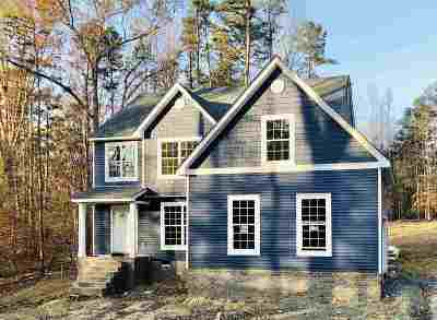 Fluvanna County Single Family Home For Sale: Lot 30 Plum Ct