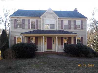 Charlottesville Single Family Home For Sale: 1215 Raintree Dr