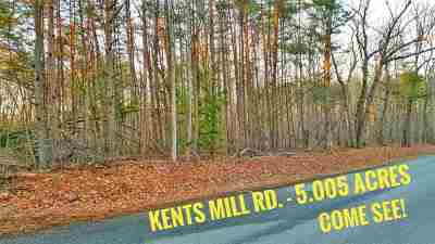 Louisa Lots & Land For Sale: Kents Mill Rd