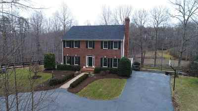 Albemarle County Single Family Home For Sale: 4787 Advance Mills Rd