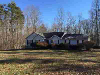 Fluvanna County Single Family Home For Sale: 949 Oak Creek Rd