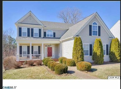 Albemarle County Single Family Home Pending: 3190 Turnberry Cir