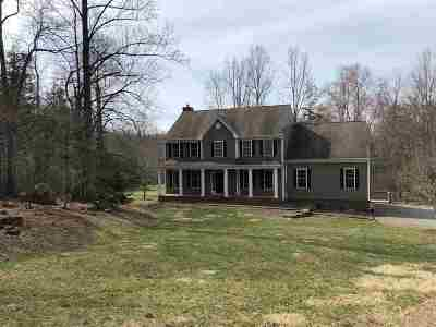 Albemarle County Single Family Home For Sale: 3285 Hardware River Rd