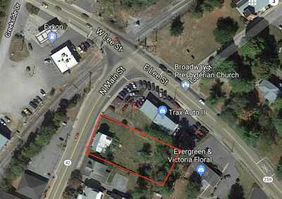 Broadway Lots & Land For Sale: 249 N Main St