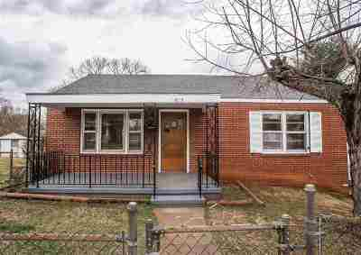 Charlottesville Single Family Home For Sale: 815 Elliott Ave