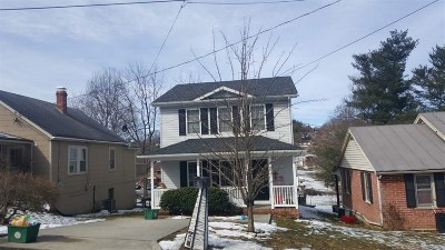 Staunton Single Family Home For Sale: 634 C St