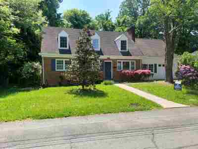 Charlottesville Single Family Home For Sale: 504 Park Hill St