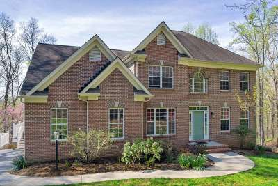 Charlottesville Single Family Home For Sale: 1227 Mountain Rd