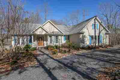 Fluvanna County Single Family Home For Sale: 6 Barefoot Ln