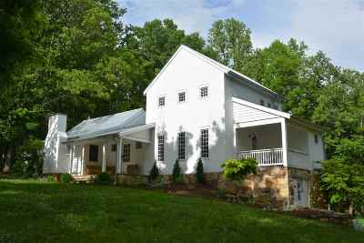 Albemarle County Single Family Home Pending: 1007 Taylors Gap Rd