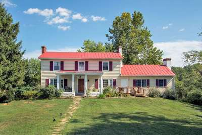 Albemarle County Single Family Home For Sale: 5289 Free Union Rd