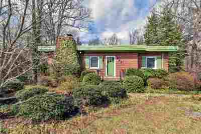 Charlottesville Single Family Home For Sale: 442 W Rio Rd