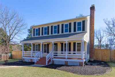 Charlottesville Single Family Home For Sale: 1489 Shadow Oaks Pl