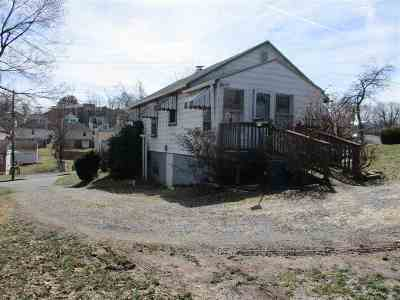 Staunton VA Single Family Home For Sale: $89,000