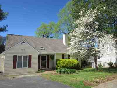 Charlottesville Single Family Home For Sale: 120 Westwood Cir
