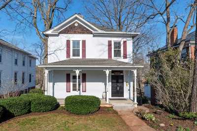 Charlottesville Single Family Home For Sale: 619 Locust Ave