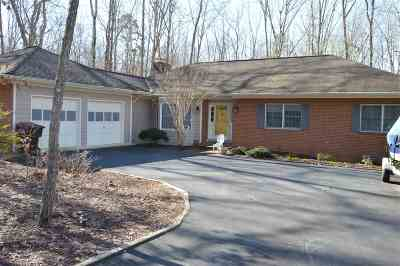 Fluvanna County Single Family Home For Sale: 14 Axle Tree Rd