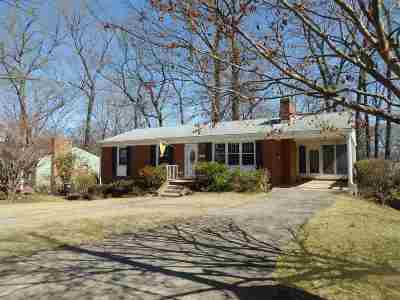 Charlottesville Single Family Home For Sale: 607 Shamrock Rd