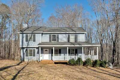 Charlottesville Single Family Home For Sale: 107 Mountain View Dr