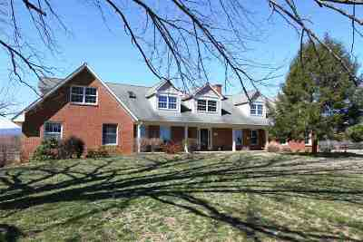 Single Family Home For Sale: 2146 Browns Gap Tpke