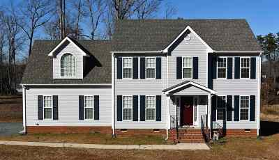 Fluvanna County Single Family Home For Sale: Lot 4 Central Plains Rd