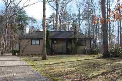 Albemarle County Single Family Home For Sale: 4855 Three Chopt Rd