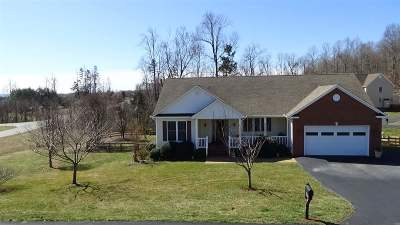 Single Family Home For Sale: 366 Ridgemont Rd