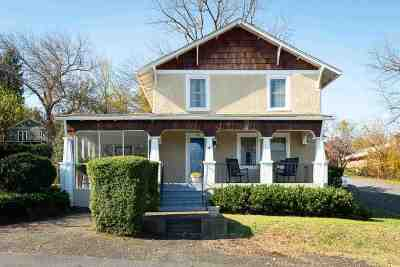Charlottesville Single Family Home For Sale: 809 Moore Ave