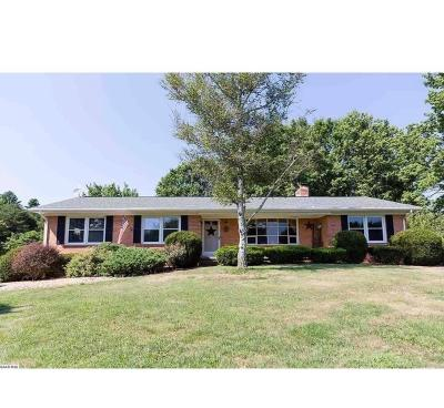 Staunton Single Family Home For Sale: 3002 Morris Mill Rd