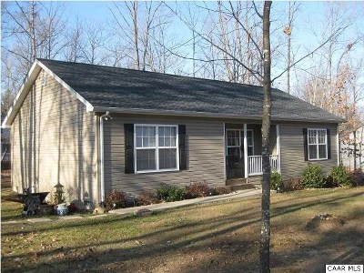 Fluvanna County Single Family Home For Sale: 4 Smokewood Dr