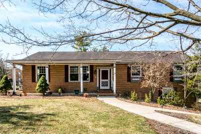 Harrisonburg Single Family Home For Sale: 12 Laurel St
