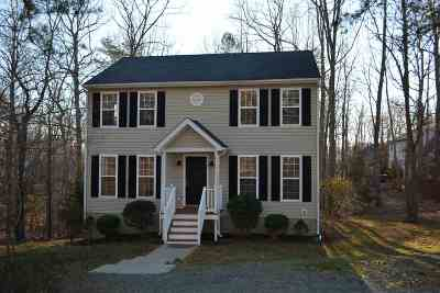 Fluvanna County Single Family Home For Sale: 27 Marwood Dr