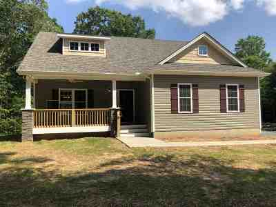 Staunton Single Family Home For Sale: Lot 65 McIlwee Ln