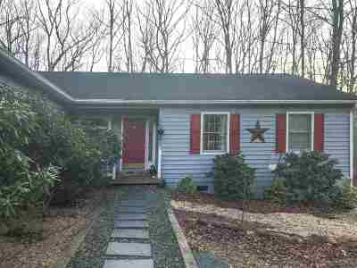 Fluvanna County Single Family Home For Sale: 405 Jefferson Dr