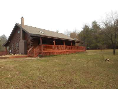Nelson County Single Family Home For Sale: 1026 Walkers Mountain Rd