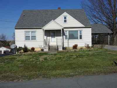 Augusta County, Rockingham County Single Family Home For Sale: 65 Hillside Dr