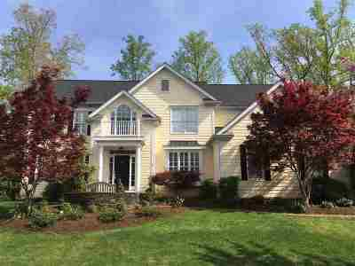 Charlottesville Single Family Home For Sale: 1713 Monet Hill