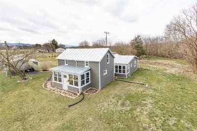 Augusta County, Rockingham County Single Family Home For Sale: 1875 River Rd