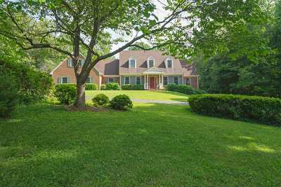 Albemarle County Single Family Home For Sale: 155 Ivy Ridge Rd