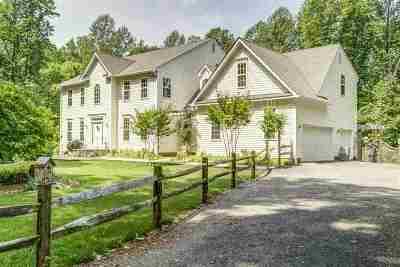 Gordonsville Single Family Home For Sale: 18248 Buzzard Hollow Rd