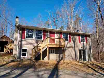 Scottsville VA Single Family Home For Sale: $199,500