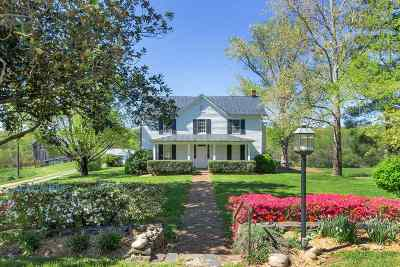 Albemarle County Single Family Home For Sale: 1252 Ortman Rd