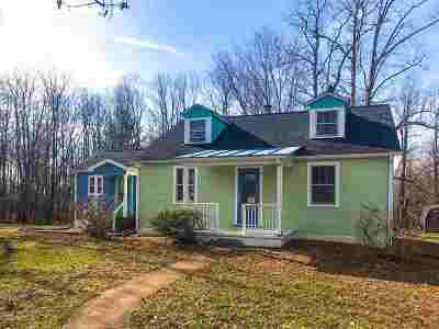 Single Family Home For Sale: 3040 Fredericksburg Rd
